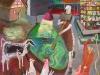 grüne Soße2011100/70 cmAcryl/Karton