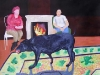 Hot Dog	2011	100/70 cm	Acryl/Karton